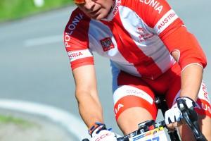 Jedyny Polak  w maratonie kolarskim w St. Pölten / Radmarathon