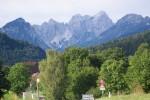 Możliwe że wierzchołki Alp Karnijskich przed Thörl-Maglern, kiedyś ułatwiały kupcom orientację w terenie.