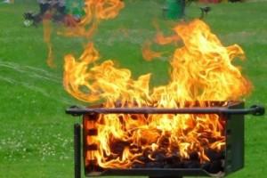 Zakaz grillowania w Wiedniu ze względu na niebezpieczeństwo pożaru lasu.