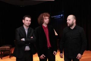 Szymon Klima (Klarinette), Joachim Mencel (Klavier), Adam Kowalewski (Kontrabass)