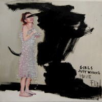 Girls Just Wanna,30x30cm.Öl/Leinwand,2011