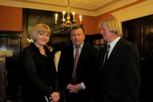 Spotkanie w Ambasadzie RP w Wiedniu.