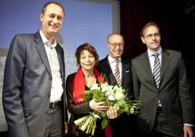Andreas Mailath-Pokorny, Anna Badora, Wolfgang Ruttenstorfer, Cay Stefan Urbanek © Georg Oberweger