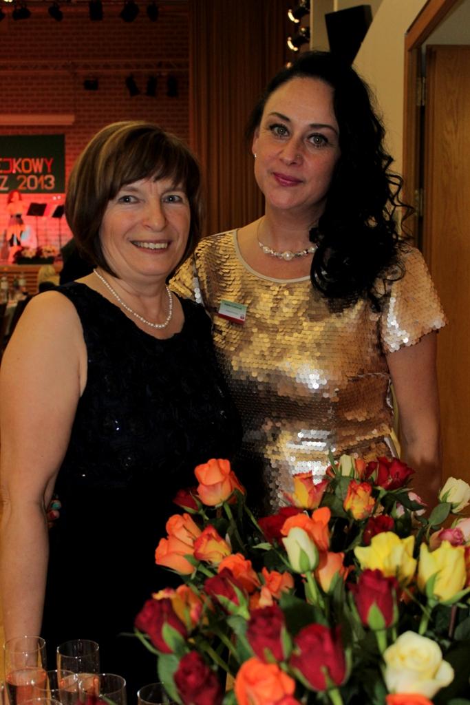 Ania Gaborek i Izabela Grabowski.