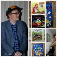 Reinhard Habeck –  pisarz, grafik komiksowy i satyryczny.