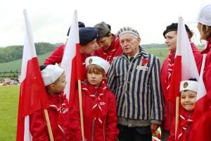 Uroczystości 69. rocznicy wyzwolenia obozów Mauthausen i Gusen.