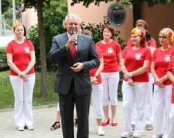 Burmistrz Schwechat, Hr. Gerhard Frauenberger.