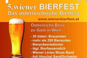 5. wiener BIERFEST – Das österreichische Bierfest.