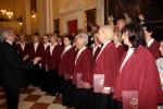 Oprawę muzyczną Mszy św. przygotował chór Archikatedry Katowickiej pod dyrekcją Krzysztofa Kagańca.
