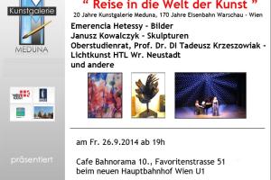 """""""Reise in die Welt der Kunst"""""""