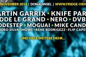 Fridge Vienna 2014 – von 21.-22. November 2014 bekommt Wien wieder ein eigenes grandioses Winteropening