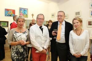 Krystyna Meduna, Czesław Romanowski, Aleksander Kurianowicz, Barbara Lawenda