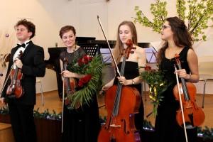 """II Koncert Noworoczny zorganizowany przez WOPwA """"Forum Polonii""""."""
