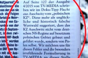 Przeprosiny TV Media skierowane do Polonii austriackiej.