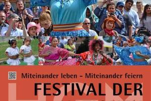 Festival der Nationen – Miteinander leben – Miteinander feiern.
