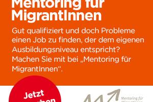 """Jetzt anmelden bei """"Mentoring für MigrantInnen"""""""