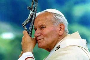 Relikwie Ojca św. Jana Pawła II w kościele św. Józefa na Kahlenbergu.