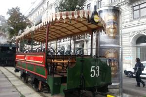 Wiedeńskie tramwaje.