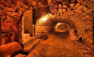 Podziemny labirynt pod Zamkiem Schönbrunn i jego ogrodami. Fotos: Robert Bouchal