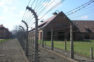 Jahrestag der Befreiung des deutschen nationalsozialistischen KZ und Vernichtungslagers Auschwitz