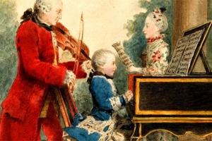 260 Urodziny Mozarta.