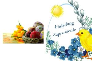 """Klub Emerytów """"Ostoja"""" zaprasza na spotkanie Wielkanocne."""