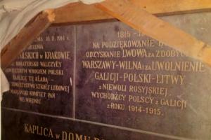 Historyczne tablice pamiątkowe Domu Polskiego wychodzą z ukrycia