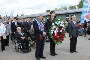 Uroczystości rocznicowe w Mauthausen / przyjmowanie zgłoszeń.