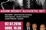 Koncert – Adam Wendt Acoustic Set