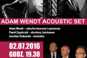 Koncert – Adam Wendt Acoustic Set