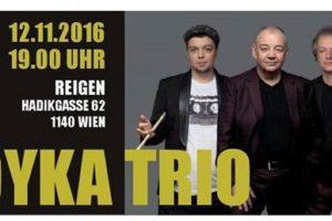 Soyka Trio – koncert 12 listopada w Wiedniu