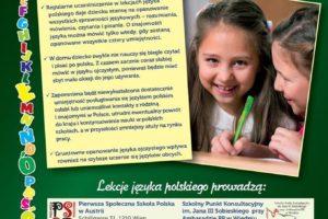 Zapisz dziecko na lekcje języka polskiego.
