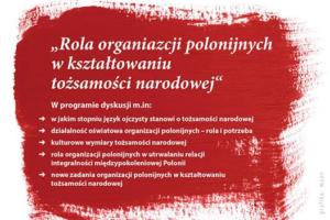 Rola organizacji polonijnych w kształtowaniu tożsamości narodowej