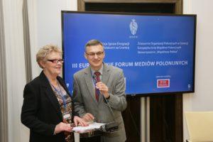 III Europejskie Forum Mediów Polonijnych w Warszawie