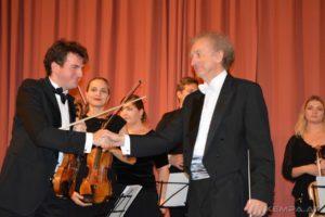 Koncert orkiestry Camerata Polonia z Chanelle Bednarczyk z okazji obchodów Narodowego Święta Niepodległości.