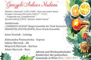 10. Internationales Adventsfest in der St. Josefskirche am Kahlenberg