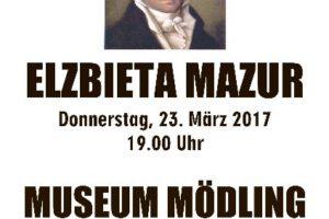 Elżbieta Mazur zaprasza na koncert