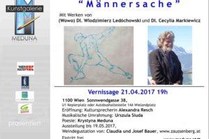 "Kunstgalerie MEDUNA – ""Männerrsache"""