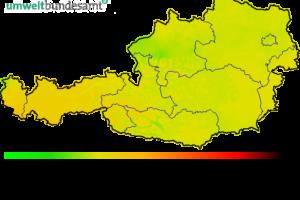Stężenie ozonu w Austrii – aktualizacja