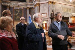 Wspólna Msza św. w intencji Króla Jana III Sobieskiego i zwycięskich wojsk sprzymierzonych. Po mszy spotkanie z Proboszczem i kustoszem Bazyliki dr János Némethem.