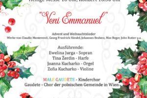11. Internationales Adventfest am Kahlenberg