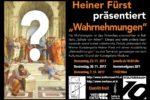 """Heiner Fürst präsentiert """"Wahrnehmungen"""""""