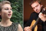 Marcin Dylla i Jagoda Świdzińska. FORUM Gitarre WIEN