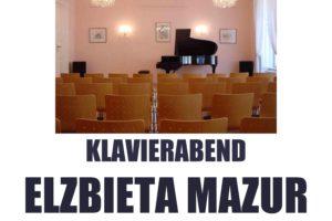 """Koncert Elżbiety Mazur -""""Grenzenlose  Fantasie"""" – utwory Chopina i Schumannna."""