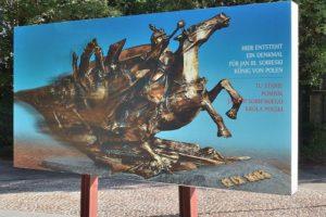 Dyskusja na temat projektu pomnika króla Jana III Sobieskiego na wzgórzu Kahlenberg.