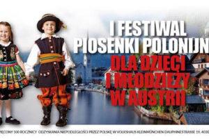 I Festiwal Piosenki Polonijnej dla Dzieci i Młodzieży w Austrii