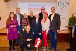 Honorowi goście spotkania i Rada Igrzysk Polonijnych w Austrii przygotowująca Team Austria na wyjazd na XIX Światowe Letnie Igrzyska Polonijne - Gdynia 2019
