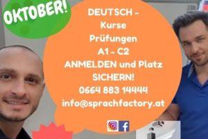 """Najlepsza szkoła językowa w Wiedniu """"Sprach Factory"""""""