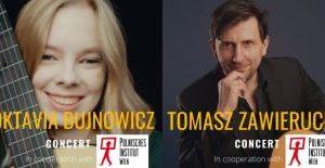 Forum Gitarre Wien – koncert Tomasza Zawieruchy i Oktavii Bujnowicz